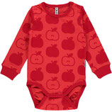 Maxomorra Body LS Apple red Gr. 68