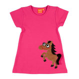 Lipfish Dress SS Cerise Horse