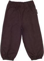 Maxomorra Pants basic dunkel braun Gr. 92