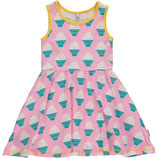 Maxomorra Dress Gathered NS Icecream