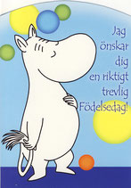 Muminkarten auf schwedisch