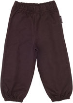Maxomorra Pants basic Sweat dunkel braun Gr. 122/128