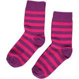 Sale! 30 % Maxomorra Socken 2er-Pack Cerise/lila
