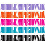 Design Letters Holzbuchstaben PINK