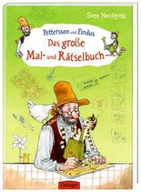 Pettersson und Findus: Das große Mal- und Rätselbuch