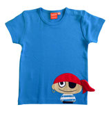 Sale 30 % Lipfish T-Shirt Pirat blue gr. 62/68