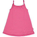 Maxomorra Spaghetti Dress Dots Cerise