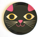 OMM Design Melamin-Teller Cat face