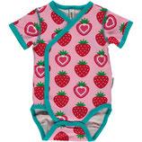 Maxomorra Wrap Body SS Strawberry