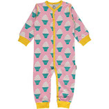 Maxomorra Rompersuit Button LS Icecream
