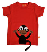 Lipfish T-Shirt Red Monkey Gr. 116