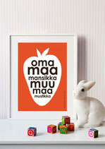 Highway Design: Poster Oma Maa