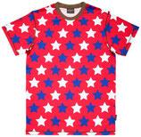 Sale! 50 % Maxomorra Herren Shirt Red Stars Gr. XL