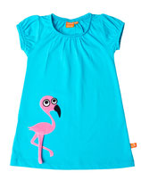 Lipfish Dress SS Flamingo