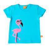 Sale! 30 % Lipfish T-Shirt Scuba Blue Flamingo