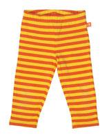 Lipfish Leggings saffron/orange striped