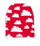 Färg & Form Mütze Moln/Wolke rot 6 Monate - 2 Jahre (48/50)