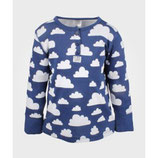 Färg & Form Langarmshirt Wolke blau