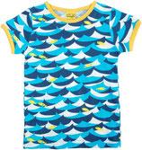 DUNS Kurzarm Shirt Jumping Fish