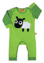 Lipfish Baby-Pyjama Sheep green