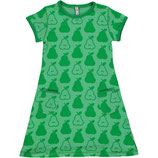 Maxomorra Dress SS Pears Green gr.92