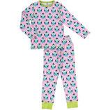 Maxomorra Pyjama Set LS Owl