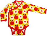 DUNS Apple Flower yellow Kimono Body