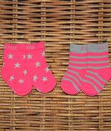 Blade & Rose Socken Stars pink Gr. 2-4 Jahre