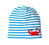 Lipfish Hat blue/white crab