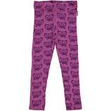 Maxomorra Leggings Cat Purple