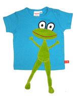 Lipfish T-Shirt Turquoise Frog