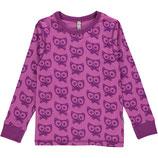 Maxomorra Shirt LS Cat Purple