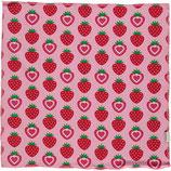 Maxomorra Scarf Square Strawberry One size