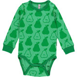 Maxomorra Body LS Pears Green