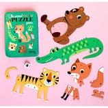 Omm Design Puzzel Game Animals