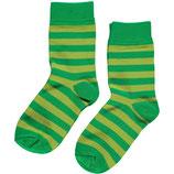 Sale! 30 % Maxomorra Socken 2er-Pack Green/Bright green Gr. 28/30