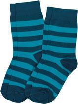 Sale! 30 % Maxomorra Socken 2er-Pack blue-dark blue