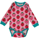 Maxomorra Body LS Strawbery