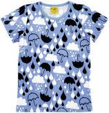 More Than A Fling Damenshirt Kurzarm Raindrop Lavendel