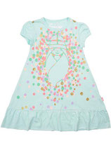 Danefæ Vesterbro Dress Fresh mint Confetti