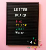 OMM Design Letter Board