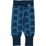 Maxomorra Ribpants Cars Blue