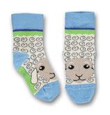 Ubang Socken Sheep Talkie-Walkie blue Gr. 18-20