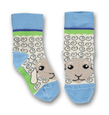 Ubang Socken Sheep Talkie Walkie blue