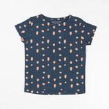 Atracktion: Katrine T-shirt Dark Denim Dots