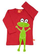 Lipfish Langarmshirt Rot Frog gr. 62/68