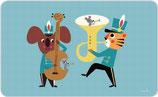 Kl Frühstückbrett Bear Band