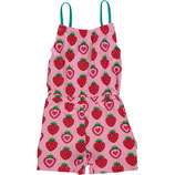 Maxomorra Jumpsuit Short Strawberry
