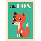 "OMM-Design Poster ""the Fox"""