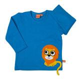Lipfish Shirt Lion arctic blue